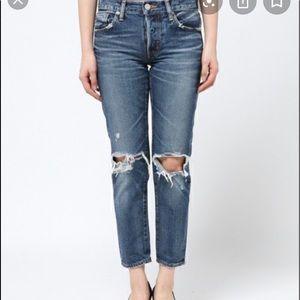 Moussy Latrobe Blue Denim Jeans